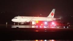 Un atterrissage difficile pour Air Canada à l'aéroport Pearson