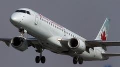 Atterrissage d'urgence à l'aéroport Montréal-Trudeau
