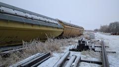 Déraillement d'un train de marchandises à Thunder Bay