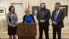 3 changements au conseil des ministres de Rachel Notley