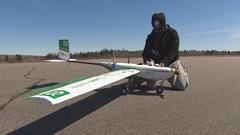 Compétition canadienne de drones à Alma
