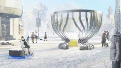 Inauguration des travaux pour le monument dédié à la Coupe Stanley à Ottawa