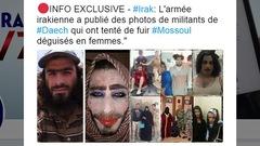 Attention à ces photos virales de djihadistes habillés en femmes