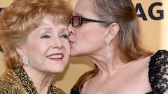 Un hommage public pour Carrie Fisher et Debbie Reynolds à Los Angeles