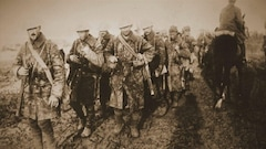 Les ossements d'un soldat canadien mort en 1917 retrouvés en France
