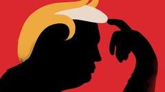 Un portrait de Donald Trump qui ne passe pas inaperçu