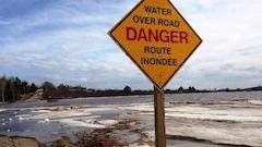 Des prévisions de pluie abondante font craindre des inondations dans les Maritimes