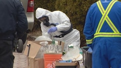 La police de Toronto saisit 37 kg de kétamine