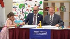 Ottawa s'entend avec les provinces pour créer 40000places en garderie