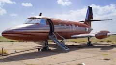 Un demi-million pour l'avion d'Elvis Presley, inutilisé depuis 35 ans