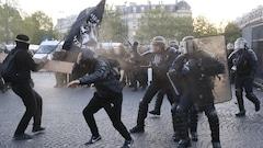Des affrontements marquent le premier tour de la présidentielle française