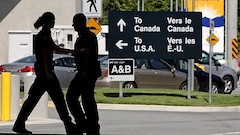Non, les Canadiens ne sont pas plus refoulés à la frontière depuis Trump