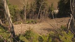 Glissement de terrain à Matane