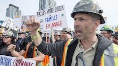 Grève de la construction: Couillard déposera une loi spécialelundi s'il n'y a pas d'entente