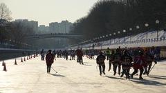 Du hockey mineur sur le canal Rideau