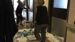Dégât d'eau:les travaux se poursuivent à l'Hôpital de Hull