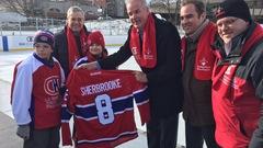 La patinoire Bleu Blanc Bouge de Sherbrooke inaugurée officiellement