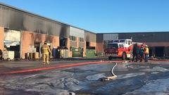 Un 2e incendie en six mois à l'entreprise SamaN de Victoriaville
