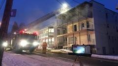 Incendie au centre-ville de Sherbrooke : le témoin devient suspect principal
