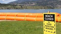Le niveau du lac Okanagan continue de grimper