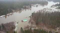 Inondations : de l'aide fédérale pour Mud Lake