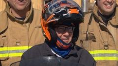 Jim Watson de retour sur une motoneigedeux ans après son accident