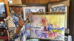Retrouvailles de peintres au Grand Hôtel de Baie-Comeau