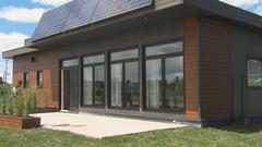 Un quartier alimenté à l'énergie solaire et à la biomasse à Saint-Félicien