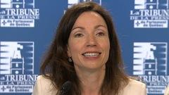 Course bloquiste: Martine Ouellet croise le fer avec le PLQ
