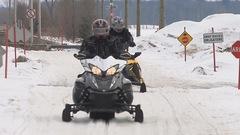 La neige abondante profite à l'industrie de la motoneige