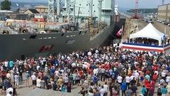 La Davie inaugure le plus gros navire de son histoire
