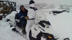 Plus de 50 cm de neige pour lancer la saison estivale à T.-N.-L.