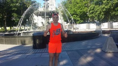 Six jours pour courir 430 kilomètres : c'est parti pour Olivier Duhaime