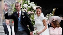La famille royale au mariage de Pippa Middleton