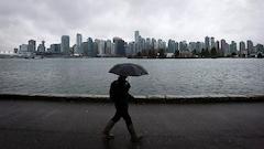 Vancouver: 27jours de pluie sur29 en mars