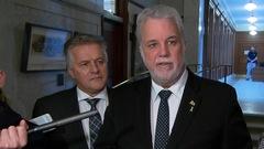 REM: Couillard veut un engagement rapide d'Ottawa