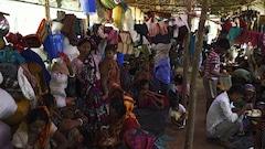 Des hindous birmans fuient au Bangladesh