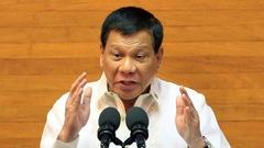 Le président philippin Duterte promet d'intensifier la guerre contre la drogue