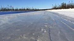 Les routes de glaces fondent toujours un peu plus chaque année