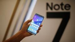 Samsung relance son Galaxy Note 7