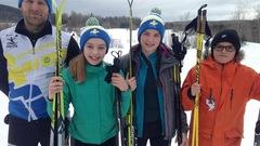 Deux athlètes de Gaspé sélectionnés pour les Jeux du Québec en ski de fond