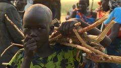 Au coeur d'un camp de Nuers, peuple persécuté au Soudan du Sud