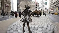 La petite fille de Wall Street ne bougera pour au moins un an