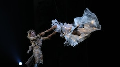 Première de <em>Stone</em>: Luc Plamondon «ébloui» par son spectacle hommage