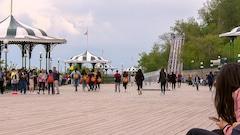 Plus de touristes à Québec depuis le début de l'année