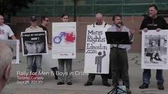 Un documentaire sur le mouvement pour le droit des hommes sème la controverse àOttawa