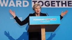 Theresa May imagine la Grande-Bretagne post-Brexit