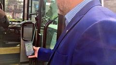 Détecter l'autobus et acheter son billet sur son téléphone à Sherbrooke