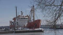 Garde côtière : un navire rénové pour 8M$ vendu à rabais