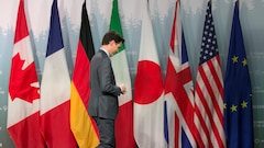 Vague de solidarité envers Trudeau après la volte-face de Trump au G7